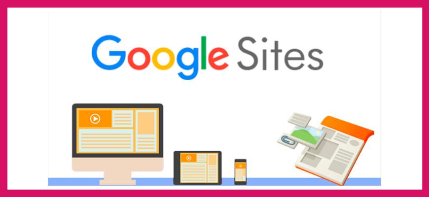Конструктор Google Sites