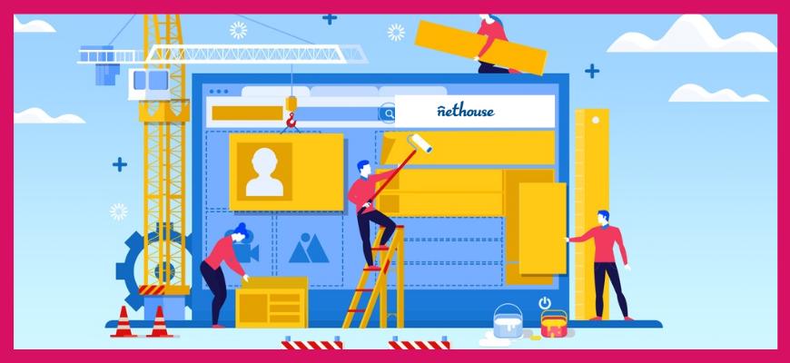 Сервисы для создания сайтов Nethouse